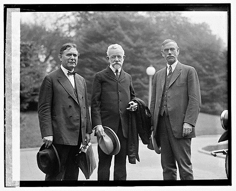 Political rivalry between woodrow wilson and henry cabot lodge